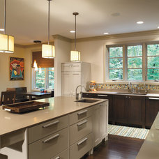 Contemporary Kitchen by Thomas Home Center