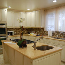 Traditional Kitchen by D&O Cabinets INC