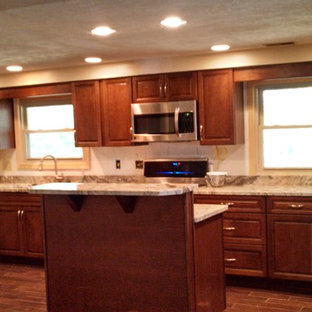 Inspiration for a timeless kitchen remodel in Indianapolis