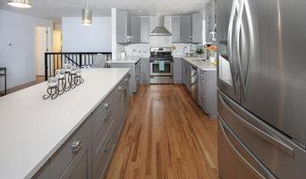 Kitchen Cabinets - Shaker Grey