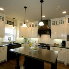 Eclectic Kitchen by ULTIMATE CABINETS