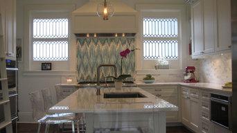 Kitchen: Calcutta Caldia marble
