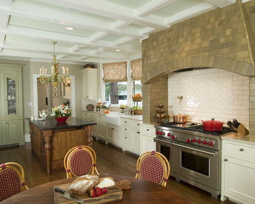 Herringbone range backsplash ideas, pictures, remodel and decor
