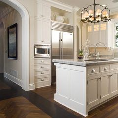 traditional kitchen by Carl M. Hansen Companies