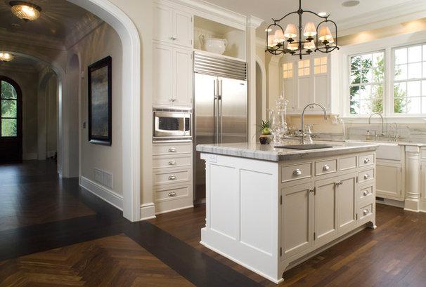 Traditional Kitchen by Carl M. Hansen Companies