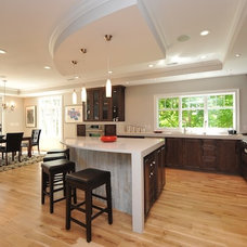 Contemporary Kitchen by Carmel Developments Inc