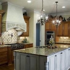 Traditional Kitchen by Carolina Design Associates, LLC