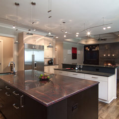 contemporary kitchen by Carolina Design Associates, LLC