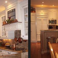 Traditional Kitchen by Carolyn C. Interior Decorator, Brampton, ON.