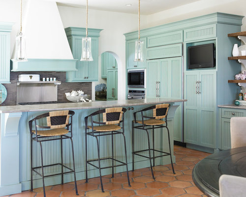 Best Turquoise Kitchen Cabinets Design Ideas & Remodel ...