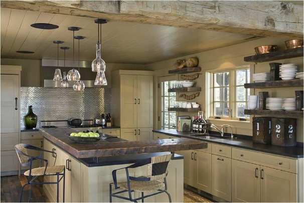 Rustic Kitchen by Carter Kay Interiors