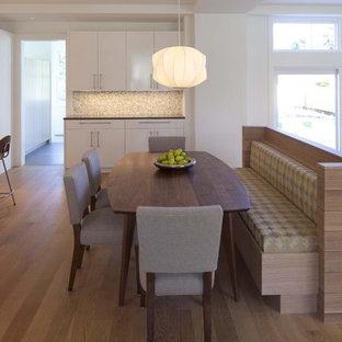 Esempio di una cucina ad ambiente unico minimal