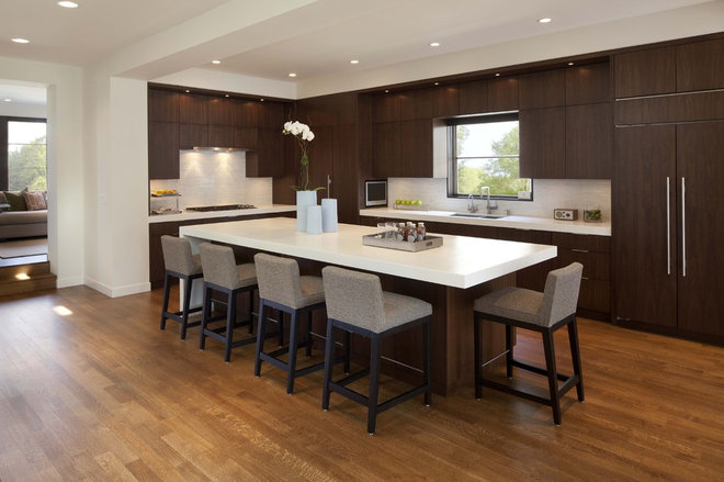 Contemporary Kitchen by Charlie & Co. Design, Ltd