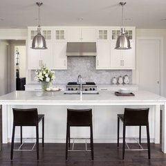contemporary kitchen by Charlie Simmons - Charlie & Co. Design, Ltd.