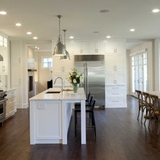 traditional kitchen by Charlie Simmons - Charlie & Co. Design, Ltd.