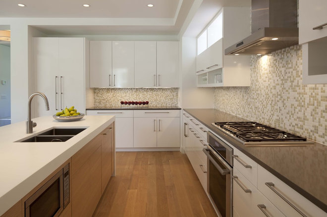 Contemporary Kitchen by Charlie & Co. Design, Ltd