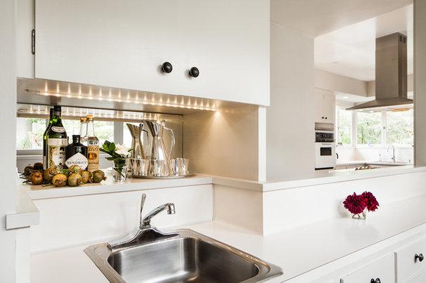 Contemporary Kitchen by Cheryl Burke Interior Design