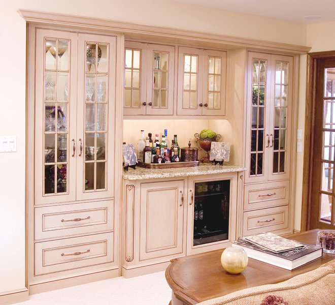 Built In China Cabinet