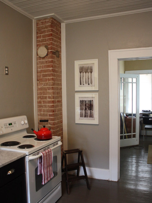 Exposed Brick Chimney Houzz