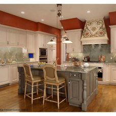 Traditional Kitchen by Christian Tennant Custom Homes