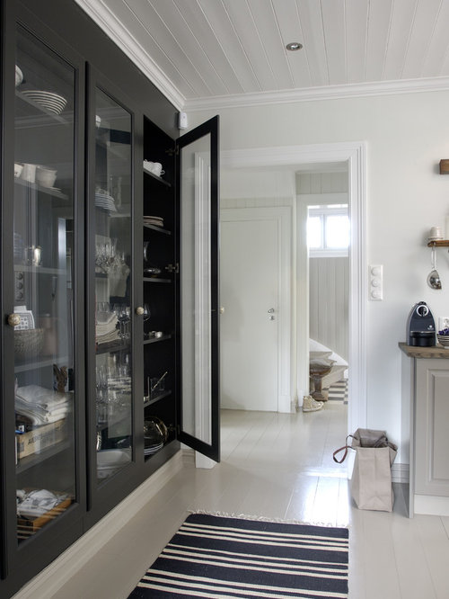 Glass Pantry Cabinet | Houzz