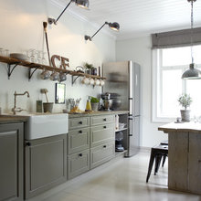 Kitchen of the Week: Vintage Flair for a Modern Norwegian Family