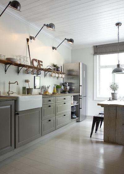 Landhausstil Küche By Christine F. Interiordesign AS