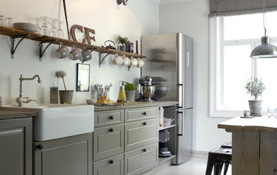 Amazing Kitchen of the Week Kitchen of the Week Vintage Flair for a Modern Norwegian Family