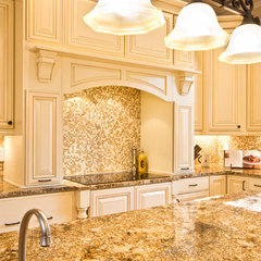 traditional kitchen by Cinder Creek Construction
