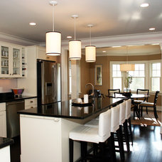 Traditional Kitchen by CK Architects