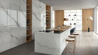 Kitchen - Classic Statuario, Plain Sawn