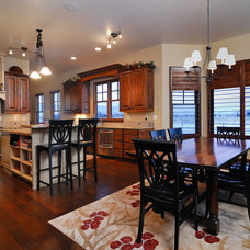 Traditional Kitchen by Clearview Construction Group, LLC
