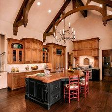 Traditional Kitchen by Kitchen Collaboration, LLC