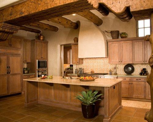 Best 15 Mediterranean Kitchen Ideas & Remodeling Photos