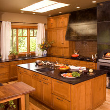 Traditional Kitchen by Roger Turk/Northlight Photography