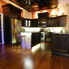 Contemporary Kitchen by Leverette Home Design Center