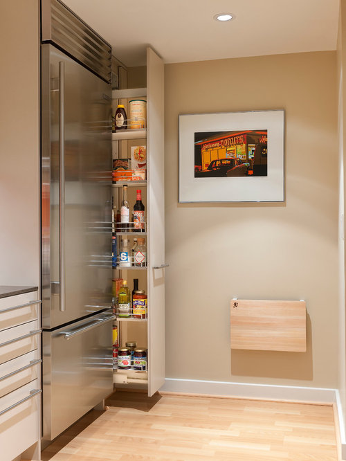 Slim Pullout Pantry | Houzz