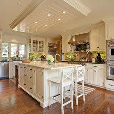 Farmhouse Kitchen by Corbo Associates Inc.