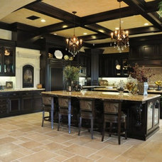 Mediterranean Kitchen by Cornell Custom Homes, Inc
