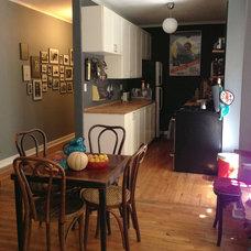 Midcentury Kitchen by EO Design