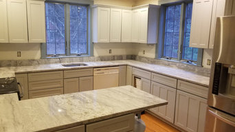 Kitchen Countertop in River White Granite
