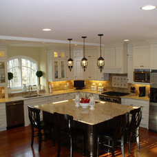 Traditional Kitchen by Crowe Custom Countertops