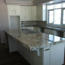 Kitchen by K&J's custom granite inc.