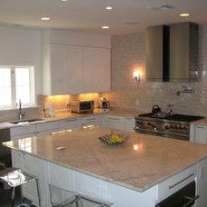 Contemporary Kitchen by Triton Stone