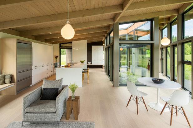 モダン キッチン by David Coleman / Architecture