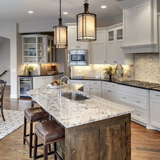 Transitional Kitchen by Gonyea Homes & Remodeling