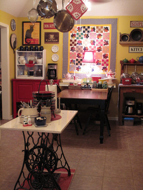 Repurpose Sewing Machine Table Ideas, Pictures, Remodel and Decor