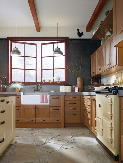 Rustic Kitchen by MasterBrand Cabinets, Inc.