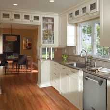 Transitional Kitchen by MasterBrand Cabinets, Inc.
