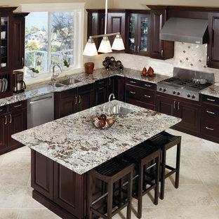 Espresso Kitchen Cabinets Houzz
